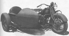 Indian Chief 340B with Sidecar