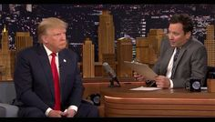Watch Jimmy Fallon Interviewing Donald Trump for the Job of the US President