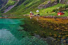 Vindstad, Lofoten Islands, Norway