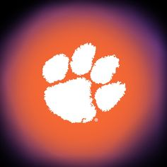 Paw Clemson Tigers Wall Flag, Team Logo in Orange/White Clemson Football, Clemson Tigers, Best Portable Bluetooth Speaker, Tiger Paw, University Of South Carolina, Jacksonville Jaguars, Orange Is The New Black, Rug Making, Area Rugs