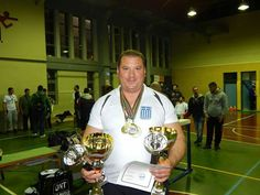 Hellenic champion George Charalampopoulos