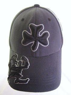 sale retailer 5f986 fec0e Rare University Notre Dame Fighting Irish Ball Cap Hat One Fit Top of the  World