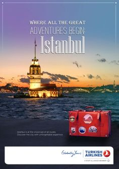Turkish Airlines AD by Kadriye Uslu at Coroflot.com