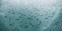 """West Lamma Channel, South China Sea. From the series """"Exodus"""" © Marcus Lyon"""