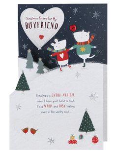 Me To You Boyfriend Christmas Card - Christmas Single Cards - Christmas Cards - Christmas | Clintons