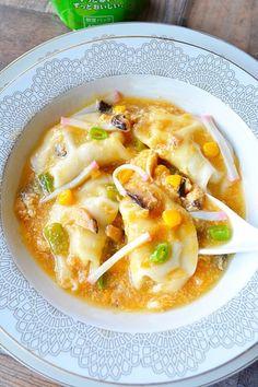 """具沢山で栄養バランスもGood!寒い季節は""""ご馳走スープ""""でお腹いっぱい ... スープ水餃子"""