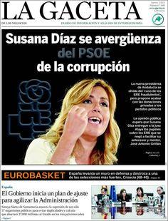 Los Titulares y Portadas de Noticias Destacadas Españolas del 5 de Septiembre de 2013 del Diario La Gaceta ¿Que le pareció esta Portada de este Diario Español?