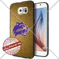 NEW Western Carolina Catamounts Logo NCAA #1699 Samsung Galaxy S6 Black Case Smartphone Case Cover Collector TPU Rubber original by WADE CASE [Gold] WADE CASE http://www.amazon.com/dp/B017KVMKVI/ref=cm_sw_r_pi_dp_kvjywb0Q077AT