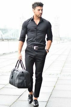 Street style for men mens clothing styles, outfits for men, summer winter, Rugged Style, Style Casual, Casual Wear, Casual Outfits, Mens Fashion Blog, Mens Fashion Suits, Fashion Moda, Fashion Fashion, Fashion Shirts