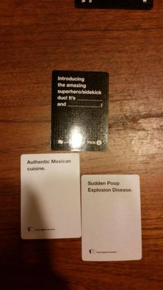 Funny games to play hilarious against humanity ideas Funny Quotes, Funny Memes, Hilarious, Jokes, Funniest Cards Against Humanity, School Games For Kids, Offensive Humor, Custom Cards, Chistes