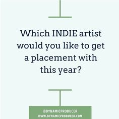 Which indie artist would you like to get a placement with this year?  #superproducer #superproducers #musicbusiness #christianhiphop #futureproducer #christianproducer #grammyproducer #musicproducerlife #producerlife #musicnetworking #hiphopproducer #producermotivation #producergrind #produceroftheyear #musicbusiness #musicbusinessfordummies #musicbusiness101 #musicbusinessmajor #musicbusinesslife #musicbusinessinterns #musicbusinessbasics #musicbusinessproblems #musicbusinessmanagement…