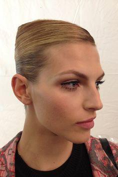 NYFW Carolina Herrera Spring'Summer 2014 Backstage Beauty (Vogue.com UK)