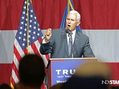 Indiana Governor Mike Pence #MakeAmericaGreatAgain Vote Trump Pence 2016