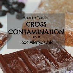 How to Teach Cross Contamination to a Food Allergic Child Tree Nut Allergy, Egg Allergy, Peanut Allergy, Kids Allergies, Baking Classes, Allergy Free Recipes, Baking With Kids, Game Day Food, Dairy Free