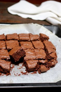 brownies - creando si impara Brownies, Nutella, Something Sweet, Marshmallow, Fudge, Buffet, Cheesecake, Pudding, Banana