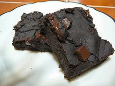 Holy Cannoli Recipes: Black Bean Avocado Brownies