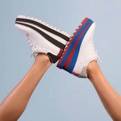 The height of cool - kick off summer in the new #SneakElyse trainer.