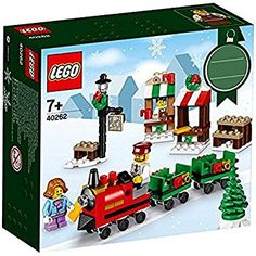 LEGO 40262 Christmas MINI Train Ride 2017 Holiday Seasonal Set 169 pcs xmas toys ideas for kids boys Lego Christmas Sets, Lego Christmas Train, Christmas Friends, Christmas Minis, Christmas Projects, Christmas Holidays, Amazon Christmas, Legos, Toys