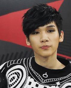 Hyuk, He's so cute c: