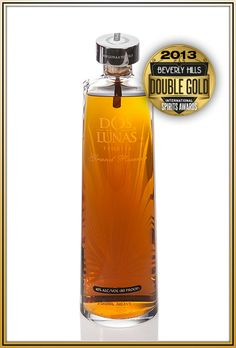 Beverly Hills International Spirits Awards Dos Lunas Grand Reserve Double Gold Medal Winner 2013 Competition Of Fine Spirits From All Over The World #beverlyhills #doslunas #tequila #awards #competition #liquor