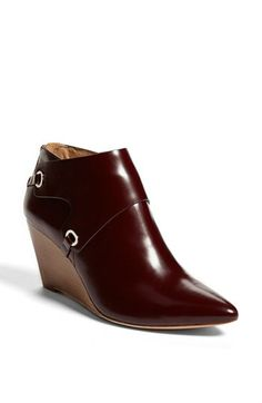 VC Signature 'Mallorie' Leather Wedge Bootie available at #Nordstrom - I want to wear these in Italy.