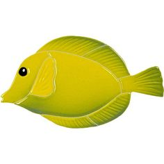 Tang Fish - Yellow