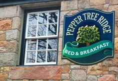 Pepper Tree Ridge B Sign