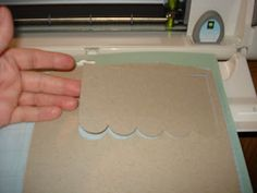 Just A Scrappin': Cutting Chipboard with your Cricut