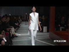 Givenchy Runway, backstage, and front-row footage from the Spring 2013 Ready-To-Wear Paris show.