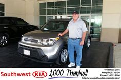 https://flic.kr/p/LF9MXf | Happy Anniversary to William on your #Kia #Soul from…