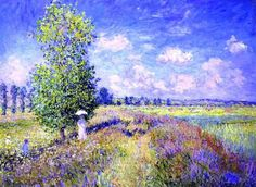 The summer by Claude Monet