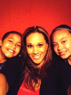 Tamina Snuka (Sarona Reiher) celebrating Mother's Day with her two daughters