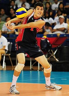 Matt Anderson, a first time Olympian has become one of the best attackers in the world! Adore his hair.