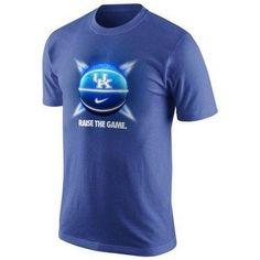 Kentucky Wildcats Raise The Game Basketball Nike t-shirt NWT Dri Fit UK CATS SEC