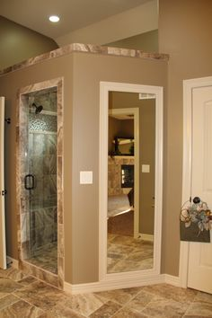 master bath....like tile color