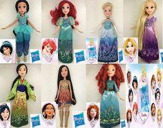 Disney Princess Dolls by Hasbro, 2016 - Hasbro took over the Disney Princess line of dolls from Mattel in 2016.