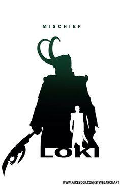 Loki - Mischief By Steve Garcia
