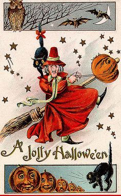 Vintage Halloween Clip Art | mfcharacters: Vintage Clip Art For Your Halloween Projects