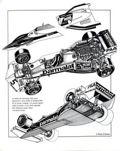 Brabham BT52 Illustrated Cars 1, Indy Cars, Race Cars, Alfa Romeo, Automobile, Formula 1 Car, Car Illustration, Car Drawings, F1 Racing