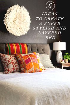 6 Ideas to Create a Super Stylish and Layered Bed | eBay
