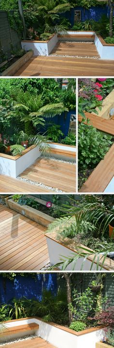 though shade friendly plants. I like the vegetable/herb box/planter.