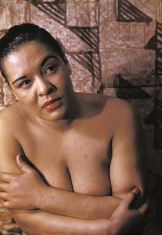 Billie Holiday (rare photo)