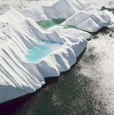 Terry Evans - A Greenland Glacier: The Scale of Climate Change. http://www.terryevansphotography.com