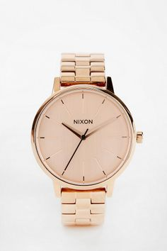 Nixon Kensington Rose Gold Watch Online Only