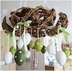 inspiration Easter Flowers, Egg Decorating, Spring Crafts, Happy Easter, Spring Time, Easter Eggs, Diy And Crafts, Jar, Blog