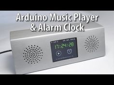 Arduino Touch Screen Music Player and Alarm Clock Project - HowToMechatronics