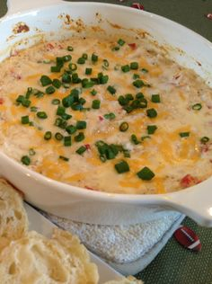 Healthy Crab Dip! Who would have thought this is possible?! Great dip to serve at your next get together | nutrition babes