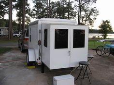 Image result for utility trailer camper conversion