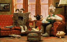 """Ah, well, it's no use prevaricating about the bush.""Wallace, Wallace and Gromit: The Wrong Trousers"