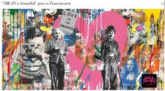 From Eternity Gallery, Mr. Brainwash, Chaplin Silkscreen and Mixed Media on Paper, × cm Mr Brainwash, Pop Art, Graffiti, Street Art, Gallery, Artwork, Painting, Beautiful, Art Ideas
